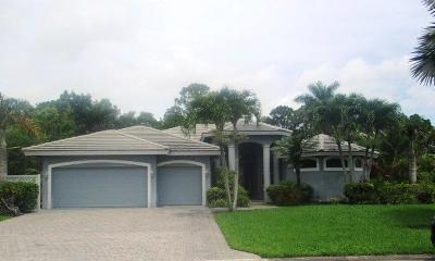 Hobe Sound Single Family Home Contingent: 4865 SE Longleaf Place