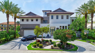Delray Beach Single Family Home For Sale: 954 Banyan Drive
