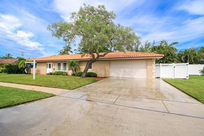 Boca Raton Single Family Home For Sale: 6851 NE 7th Avenue