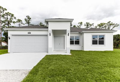 Loxahatchee Single Family Home For Sale: 16912 62nd Road