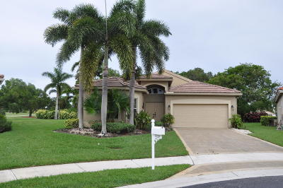 Lake Worth Single Family Home For Sale: 6320 Harbour Club Drive