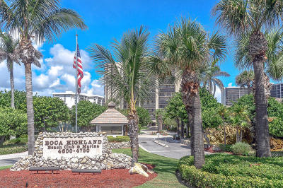 Highland Beach FL Condo For Sale: $374,900