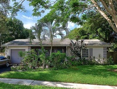 Boca Raton Single Family Home Contingent: 9564 Richmond Circle