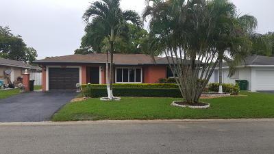 Tamarac Single Family Home Contingent: 8210 NW 91st Terrace