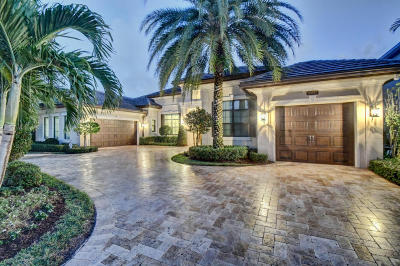 Delray Beach Single Family Home For Sale: 16882 Crown Bridge Drive