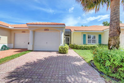 Delray Beach Single Family Home Contingent: 6053 Heliconia Road