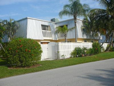 Jupiter Townhouse For Sale: 141 E Riverside Drive #11b
