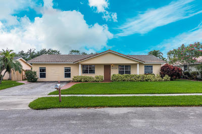 Boca Raton Single Family Home For Sale: 3332 NW 25th Way