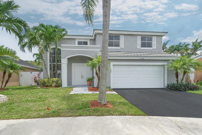 Coconut Creek Single Family Home For Sale: 5356 NW 55th Street