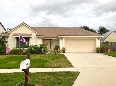 Boynton Beach Single Family Home For Sale: 10686 Mandya Court