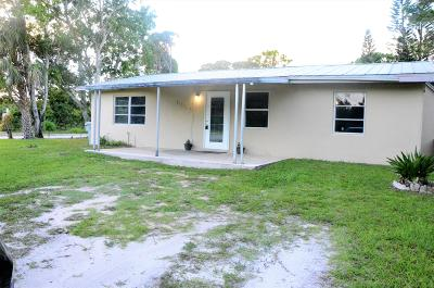 Vero Beach Single Family Home For Sale: 5990 57th Street