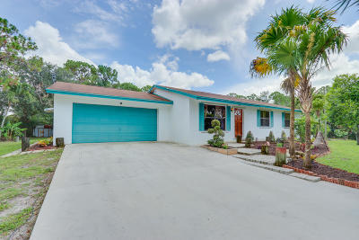 West Palm Beach Single Family Home For Sale: 12737 67th Street