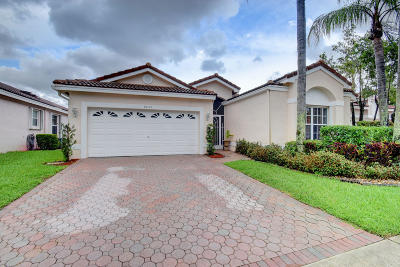 Boynton Beach Single Family Home For Sale: 9830 Lemonwood Way