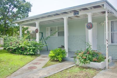 Lake Worth Single Family Home For Sale: 1721 Sunset Avenue