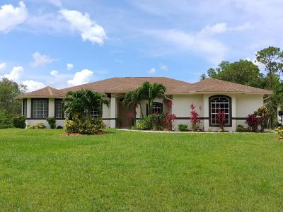 Jupiter Single Family Home For Sale: 11327 153rd Court