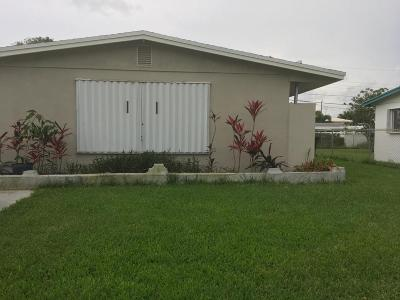 West Palm Beach Single Family Home For Sale: 1324 7th Street