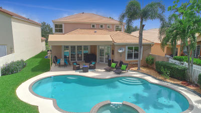 Lake Worth Single Family Home For Sale: 7276 Copperfield Circle