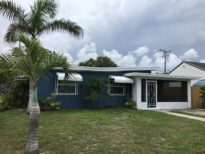 Lake Worth, Lakeworth Single Family Home For Sale: 1527 Street