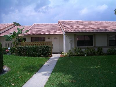 Boca Raton Single Family Home For Sale: 6737 Bridlewood Court #6737