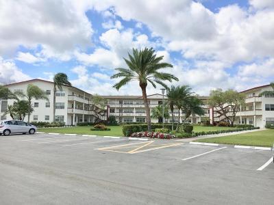 Boca Raton Condo For Sale: 605 Fanshaw O #605