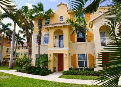 Boynton Beach Townhouse For Sale: 1504 Via Alferi