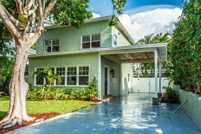 West Palm Beach Single Family Home Contingent: 704 Claremore Drive