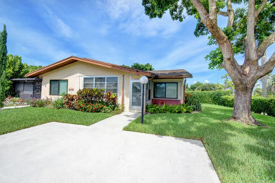delray beach Single Family Home For Sale: 14691 Edna Way