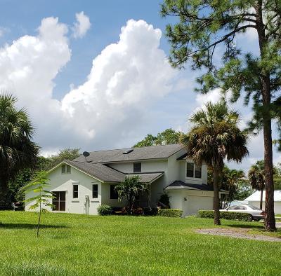 Lake Worth Single Family Home For Sale: 9312 Palomino Drive