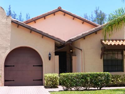 Delray Beach Single Family Home For Sale: 13660 Cortez Drive