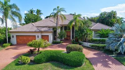 Boca Raton Single Family Home For Sale: 4650 Bocaire Boulevard