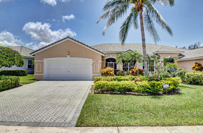 Boynton Beach Single Family Home For Sale: 8867 Brittany Lakes Drive