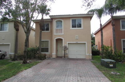 West Palm Beach Single Family Home For Sale: 4467 Lake Lucerne Circle