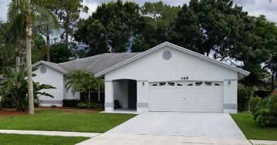 Royal Palm Beach Single Family Home For Sale: 143 Lexington Drive
