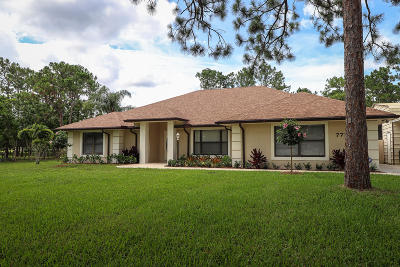 Palm Beach Gardens Single Family Home For Sale: 7718 155th Place