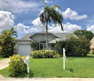 Boca Raton Single Family Home For Sale: 8148 Cedar Hollow Lane