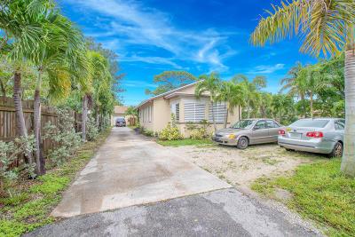 Lake Worth Single Family Home For Sale: 924 Hi Street