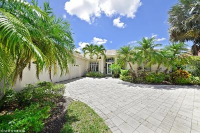 West Palm Beach Single Family Home For Sale: 8884 Lakes Boulevard