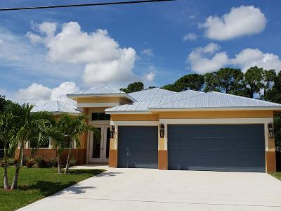 Port Saint Lucie Single Family Home For Sale: 2082 SW Idaho Lane