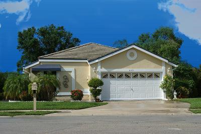 Lake Worth, Lakeworth Single Family Home For Sale: 8095 Covington Court