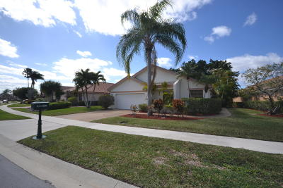 Boca Raton Single Family Home For Sale: 11156 Clover Leaf Circle