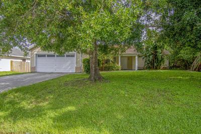 Port Saint Lucie Single Family Home For Sale: 161 SW Grimaldo Terrace