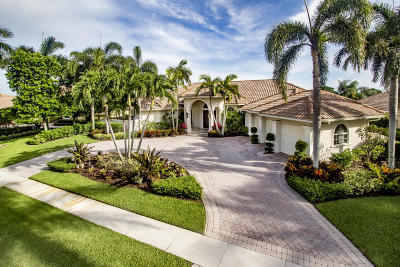 West Palm Beach Single Family Home For Sale: 7604 Hawks Landing Drive