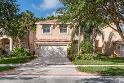 Lake Worth Single Family Home For Sale: 7546 Oak Grove Circle