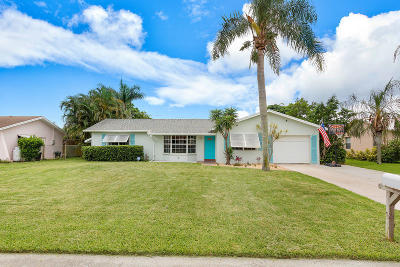 Boynton Beach Single Family Home For Sale: 3546 Coelebs Avenue