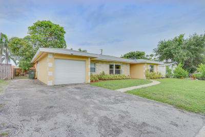 Delray Beach Single Family Home For Sale: 1327 SW 21st Terrace