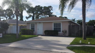 Lake Worth Single Family Home Contingent: 4095 Ponza Place