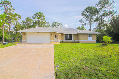 Loxahatchee Single Family Home For Sale: 17623 41st Road