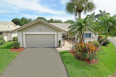Boca Raton Single Family Home For Sale: 6921 Villas Drive W