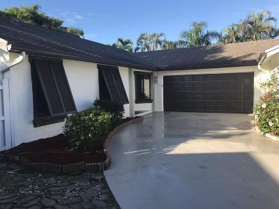 Boca Raton Single Family Home For Sale: 9588 Everglades Park Lane