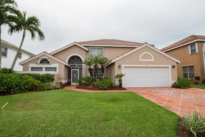 Boynton Beach Single Family Home Contingent: 9118 Indian River Run